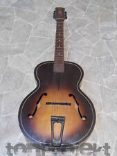 Progetto VINTAGE Harmony archtone h1215 acustica archtop Jazz Chitarra USA 1945