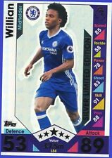 Match Attax 2016 2017 Topps LE4 WILLIAN Silver Limited Edition 16 17