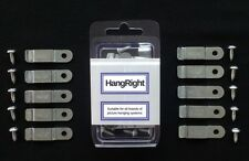 HangRight Clips - Reduce forward lean - Picture Hanging Systems - FREE Delivery