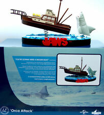 JAWS 'ORCA ATTACK  PREMIUM MOTION STATUE LIMITED EDITION UNIVERSAL STUDIOS