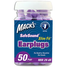 Mack's Slim Fit Foam Earplugs 50 Pack - 50 Pairs