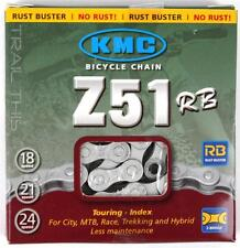 """KMC Z51RB Rust Buster 5,6,7,8-Speed 3/32"""" Winter Bicycle Chain fits SRAM Shimano"""