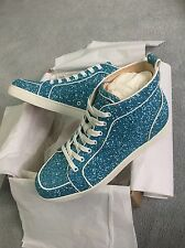 Christian Louboutin Rantus Glitter Trainers Sneakers **RARE** 100% Authentic