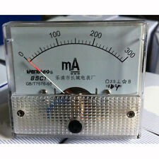 2.5 Accuracy DC 0-300mA Analog Current Panel Meter Ammeter 85C1-mA