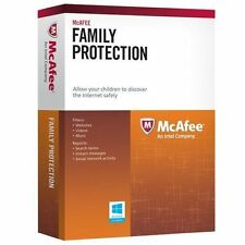 McAfee Family Protection 3 User 1 Year E-Card Block Youtube Videos View Social