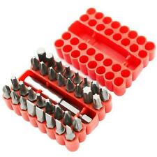 33Pcs Security Tamper Proof Torx Bit Set Spanner Star Hex Holder Rod Screwdriver