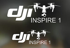 DJI Inspire Vinyl Decal Sticker Set (2 Sets Big & Small)