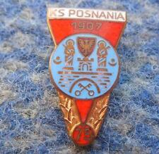 POSNANIA POZNAN 75 ANNIVERSARY POLAND RUGBY POWERBOAT CANOE KAYAK ROWING PIN