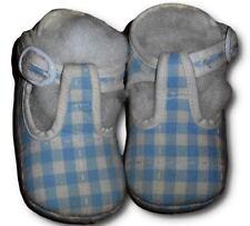 Scarpe culla mocassino quadretti CANADA HOUSE unisex neonata neonato num 19