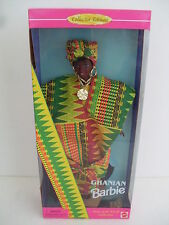 barbie ghanian dolls of the world ghana ghanese collector mondo 1996 dotw 15303