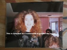Vtg 80's Photo of Young Pretty Redhead Woman/Lady With Big Hair Style E92