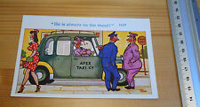Post Card Saucy Taxi