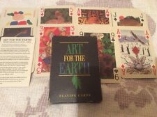 Art For The Earth 1992 Boxed Pack of Transformation Playing Cards Incl jokers