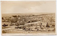 Real Photo Postcard Birds Eye View of Sidney, Nebraska~106521