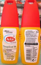 Autan Tropical contro zanzare comuni tropicali heimische und tropische mucken