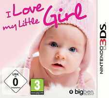 I love my little Girl Nintendo 3DS deutsch Neu & OPV