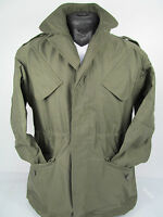 Dutch Army Vintage Military NATO Olive Drab Green Cotton Field Combat Jacket