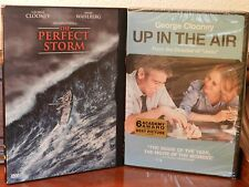 DVD's Up In The Air  and The Perfect Storm, starring George Clooney