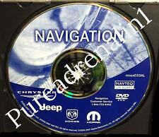 06 07 DODGE CHARGER DURANGO CARAVAN NAVIGATION MAP NAV DISC CD REC RB1 DVD 033AL
