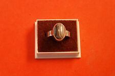925 Silver Ring With B. Botswana 6.3 Gr.1.5x1.1 Cm.Wide size M- P- Q12 -S12- T