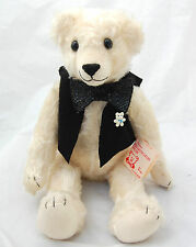 OOAK Mohair White Polar Bear Teddy Artist Shirley Bearington Handmade Original