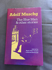 "1983 1ST EDITION ""BLUE MAN & OTHER STORIES"" ADOLF MUSCHG HARDBACK BOOK"