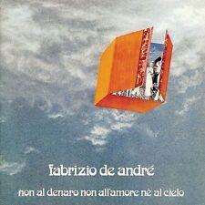 DE ANDRE' FABRIZIO NON AL DENARO NON ALL'AMORE NE AL CIELO VINILE LP 180 GRAMMI