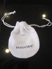 "Genuine Anti-tarnish Pandora Gift Bag White Pouch 3"" x  4"" BRAND NEW amazing"