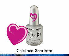 ChicLacq Scarlatto Smalto Semipermanente UV Soak-Off Nail Polish Unghie KyLua