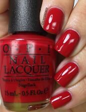 NEW! OPI NAIL POLISH Nail Lacquer in CINNAMON SWEET ~ Warm Red Creme