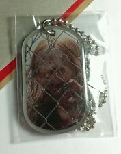 WALKING DEAD AMC ZOMBIE WALKER WOMAN FENCE BLONDE UPDATE NECKLACE DOG TAG DOGTAG