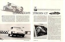 1963 CITROEN ID 19 CONNAUGHT GT ~ ORIGINAL 4-PAGE ROAD TEST / ARTICLE / AD