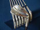 *USED* CLEVELAND CG1 CG-1 CHROME IRONS 3-PW CLEVELAND DYNAMIC GOLD S400 STIFF