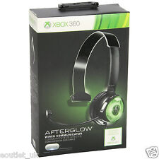 PDP Afterglow Mit kabel Communicator Gaming Headset Mic Xbox 360 X360 NEU