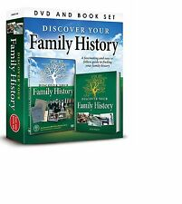 DISCOVER YOUR FAMILY HISTORY (FASCINATING & EASY GUIDE) DVD & BOOK GIFT SET
