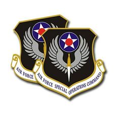 Air Force Special Ops Command Sticker  -  Military Dye Cut Decal - 2 Pack MR 021