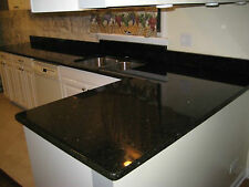"Black Granite Counter Top Update Kitchen w/Granite  Peel N Stick 36""x12ft"