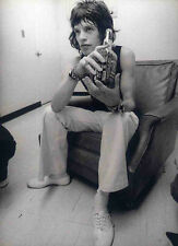 MICK JAGGER POSTER PAGE 1972 THE ROLLING STONES . F20