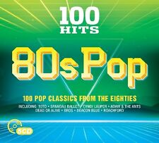 Various - 100 Hits - 80s Pop (2017)  5CD  NEW/SEALED  SPEEDYPOST