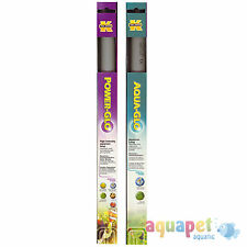 Power-GLO T8, 20W linear fluorescent aquarium bulb with Free Aqua-GLO T8, 20W