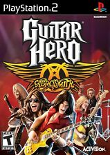 Guitar Hero: Aerosmith - Playstation 2 Game Complete
