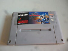 super nintendo  snes super probotector alien rebels gig