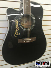 Takamine EF341SC-LH Left-Handed Acoustic-Electric w/Case