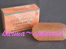 Himalayan Pink Crystal SALT BAR Soap Deodorant Insect Bites Massage - Aloha Bay
