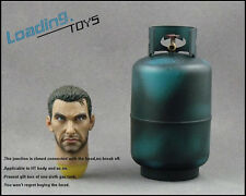 "Loading Toys 1/6 Scale 12""  Action Figure Head Marcus with Gas Tank"