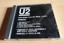 U2 - EVEN BETTER THAN THE REAL THING - REMIXES - 422 864 281 2  RARE CD USA!!!!!