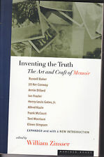 Inventing the Truth by William Zinsser