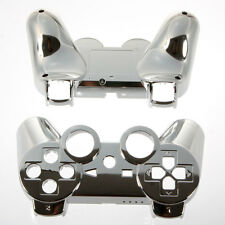 Plastic&Metal Plated Full Housing Shell Case Button for PS3 Controller #113