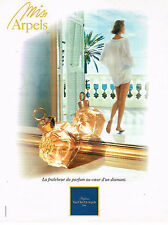 PUBLICITE ADVERTISING 064  1994  VAN CLEEF & ARPELS    parfum MISS