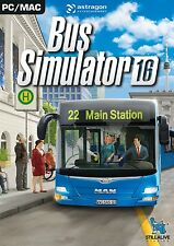 Bus Simulator 2016 (Pc Dvd) Nuevo Y Sellado Uk Stock